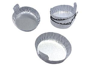Markes International: Disposable Sample Dish, Aluminum, 20 mL, for use with 120oC Micro-Chamber (Pack of 100) [M-MCAL20]