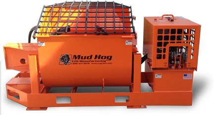 20 cf Gas-Powered Mud Hog, Hydraulic Mixing Station