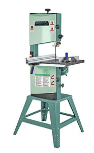 "General International 90-040 M1 Wood-Cutting Band Saw with 2/3 HP Motor, 12"", Green"