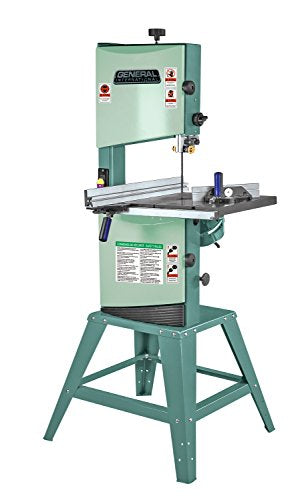 General International 90-040 M1 Wood-Cutting Band Saw with 2/3 HP Motor, 12