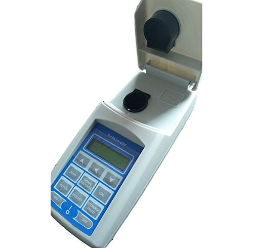 WGZ-2B Portable Turbidity Meter with Minimum Readout 0.001NTU 3 Range Switching 90 Degree Scattered Light Principle Digital Turbidity Measuring