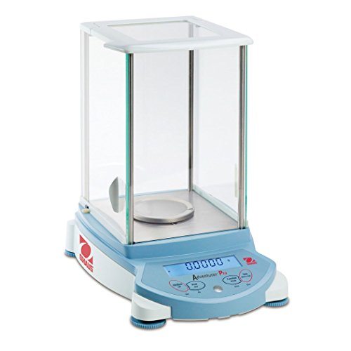 Ohaus Adventurer Pro AV264 Analytical Balance without InCal Internal Calibration, 260g Capacity, 0.1mg Readability, 0.1mg Repeatability