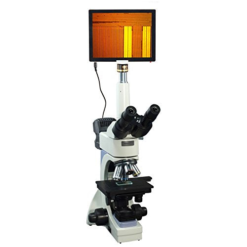 OMAX 40X-2500X 5MP Touchpad Screen Infinity Metallurgical Microscope + Transmitted/Reflected Light
