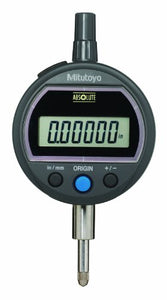 "Mitutoyo 543-502B Absolute Solar Digimatic Indicator, 0-0.5""/0-12.7mm Range, 0.00005""/0.001mm Resolution, Flat Back"