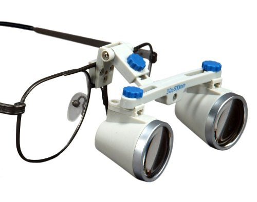 Dental Surgical Loupes, 3.0x, 500mm working distance, Alloy Frame