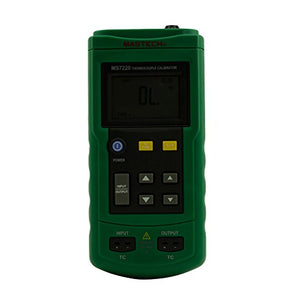 Mastech MS7220 Professional Thermocouple Simulator Calibrator Meter Tester