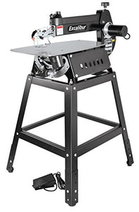 "Excalibur - EX-16K 16"" Tilting Head Scroll Saw Kit with Foot switch and adjustable height Steel stand"