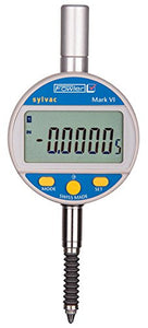 "Fowler-Sylvac Mark VI Electronic Indicator with Rubber Boot, 54-530-157-0, Accuracy 0.00016"", Measuring Range  0-1""/25mm, Resolution 0.00005""/0.001mm"