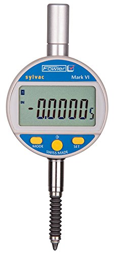 Fowler-Sylvac Mark VI Electronic Indicator with Rubber Boot, 54-530-157-0, Accuracy 0.00016