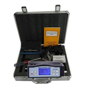 CNYST SRT-6200 Integrated Type Digital Surface Roughness Tester with 2 Parameters Ra Rz Roughness Measuring Instrument with Ra Range 0.05 to 10.00µm Rz Range 0.020 to 100.0µm