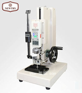 NEWTRY ZQ-21B-4 High Precision Force Testing Stand/Press And Tension/Force Gague With A Push Pull Meter For Paper/Cloth/ Thin film/Wire (with a 100N Push Pull Meter)