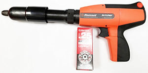 Ramset AutFast Semi-Automatic Low Velocity Powder Actuated Tool (use 25Caliber Disc)