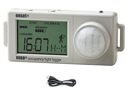 Onset HOBO UX90-006 Light Use and Occupancy Data Logger (12 Meter Distance) w/ USB Cable