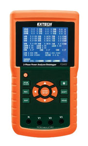 Extech PQ3450 3-Phase Power Analyzer/Data Logger