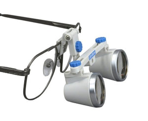 Dental Surgical Loupes, 3.0x , 460mm working distance, Alloy Frame