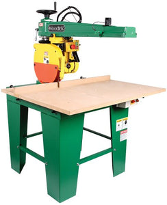 "Woodtek 148253, Machinery, Radial Arm Saws, 14"" Radial Arm Saw 2-1/2hp 1ph 230v"