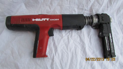 Hilti Dx 351-ct Powder Actuated Nail Gun Kit