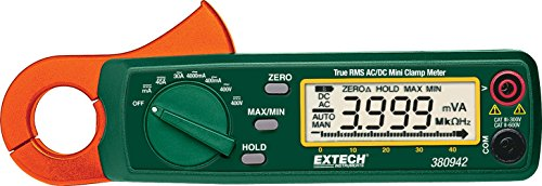 Extech 380942 True RMS 30 Amp AC/DC Mini Clamp Meter