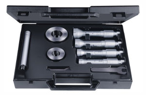 "Brown & Sharpe TESA 78.111179 Etalon Intalometer 531 Vernier Inside Micrometer Partial Set, 4-6"" Range, 0.0001"" Graduation, +/-0.0002"" Accuracy (4 Piece Set)"