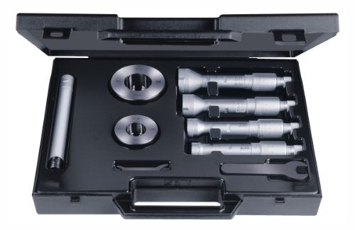 Brown & Sharpe TESA 78.111179 Etalon Intalometer 531 Vernier Inside Micrometer Partial Set, 4-6