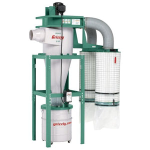 Grizzly G0601 3-Phase Cyclone Dust Collector