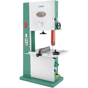 Grizzly G0569 Industrial Bandsaw, 3-Phase, 7-1/2 HP, 24-Inch