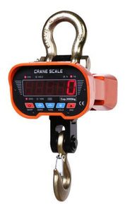 2T General Electronic Hanging Crane Scale Hook OCS-A3 2000kg /Wireless Remote
