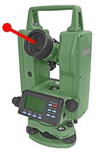 Laser Digital Theodolite 5 Seconds Accuracy With Dual Keyboard IP55 Rating