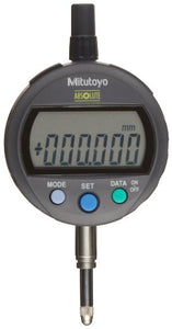 Mitutoyo 543-390 Absolute LCD Digimatic Indicator ID-C, Standard Type, M2.5X0.45 Thread, 8mm Stem Dia, Lug Back, 0-12.7mm Range, 0.001mm Graduation, -0.003mm Accuracy
