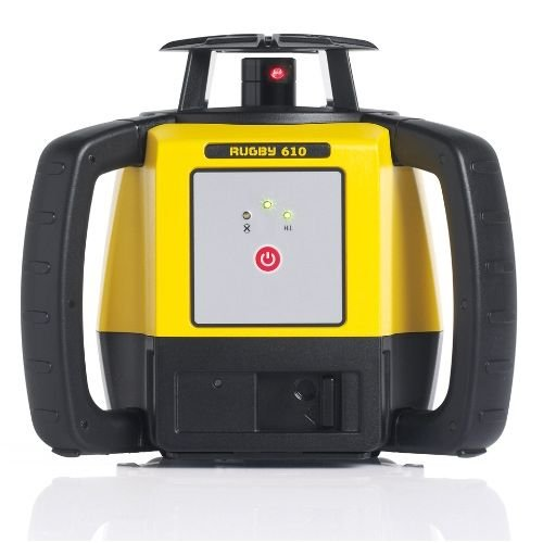 Leica Geosystems Rugby 610, Rotary Laser, Self Levelling, Horizontal, Yellow/Black 6008613