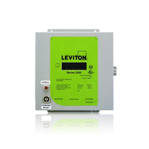 Leviton VerifEye Series 3300 Modbus RTU Indoor Meter Kit with 3 Split Core CT's, 800-Amp