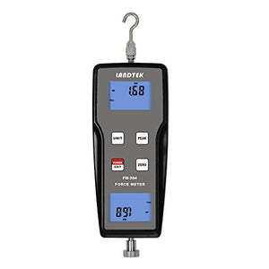 Landtek FM-204 Digital Pull Push Force Gauge,N Kg LB g, ±1 kgf