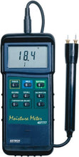 Extech 407777-NIST Heavy Duty Moisture Meter with Nist
