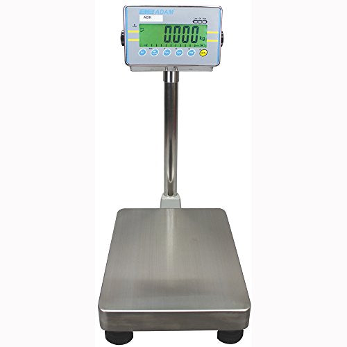 Adam Equipment ABK 260a Bench and Floor Weighing Scale, 260lb/120kg Capacity, 0.01lb/5g Readability