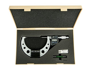 "Mitutoyo 342-354-30 CPM15-4 MX Point Micrometer, IP65, 15 Degree, 3""-4"", 0.00005""/0.001 mm"