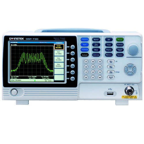 GW Instek GSP-730 Spectrum Analyzer, 150kHz-3GHz Frequency Range