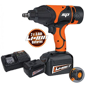 "CORDLESS 18V IMPACT WRENCH 1/2""DR 550NM"