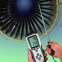 BDJK DT-8880 Hot Wire CFM/CMM LCD Digital Wind Speed &Temperature Scale Gauge Meter Anemometer