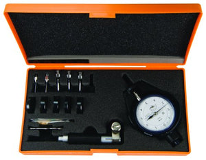"Mitutoyo 526-156 Dial Bore Gauge for Extra Small Holes, 0.145-0.29"" Range, 0.0001"" Graduation, +/-0.00016"" Accuracy"