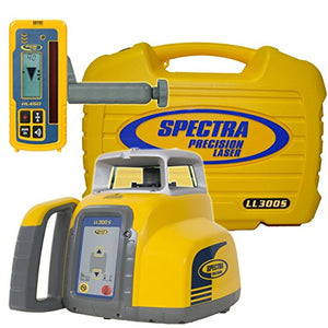 Spectra Precision LL300S-4 LL300S Laser Level Package with Ni-MH Batteries