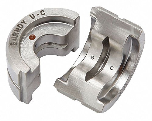 Upper and Lower Crimping Die for Electrical Wire and Cable Crimping, Max Force: 12 tons