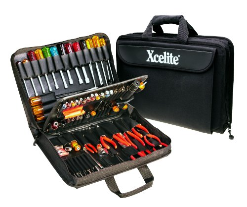 Xcelite TCS100ST Soft-Sided Rugged Cordura Tool Case with Tools, 17