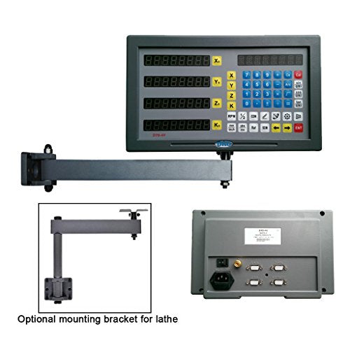 SINOCMP 4-Axis Digital Readout System for Mill Lathe Machine