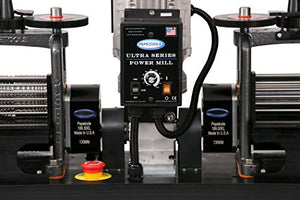 PepeTools Ultra Power Electric Double Rolling Mills Wire and Flat 130mm, MADE IN THE USA