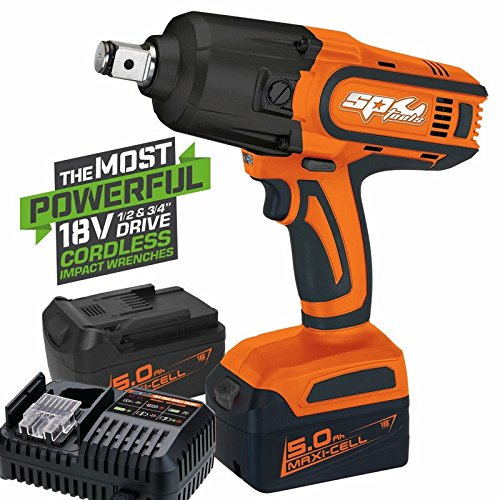 CORDLESS 18V IMPACT WRENCH 1/2