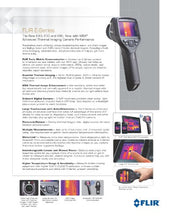 FLIR E50 Compact Thermal Imaging Camera with 240 x 180 IR Resolution and MSX (Discontinued by Manufacturer)