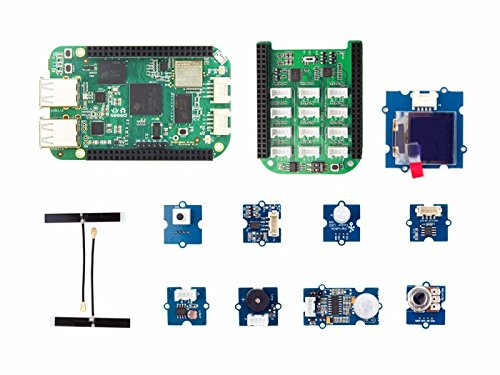 In ZIYUN BeagleBone Green Wireless IOT Developer Prototyping Kit,The kit collects various types of sensors and actuators that are seen being used in many internet-equipped devices