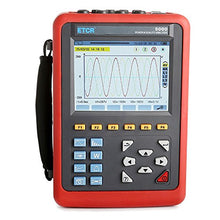 ETCR5000 Power Quality Analyzer Meter Power Analyzer Multi-functional Operation with Optional Current Sensor Model 040B Range AC 0.1A~100A