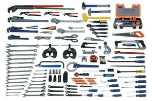 Williams WSC-137 Industrial Plumbing and Pipefitting Tool Only Set, 137-Piece