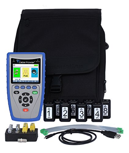 T3 Innovation CB400# Cable Prowler Cable Verifier, RJ45 Tester and VDV Cable Tester